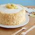 Pineapple Cake with Coconut Buttercream Frosting