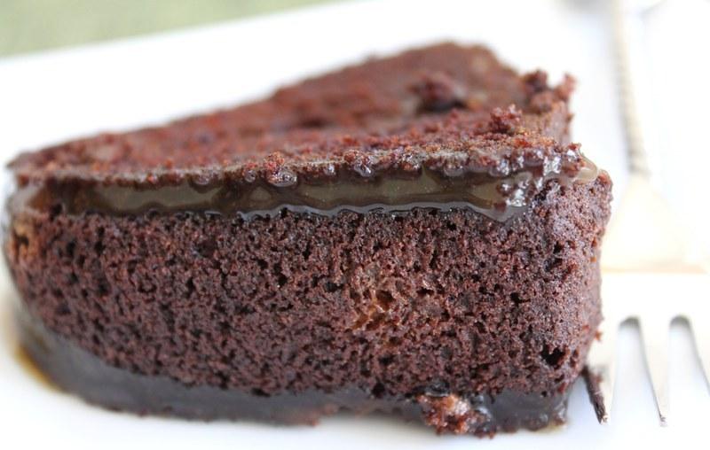 Mississippi Mud Cake with Espresso-Bourbon Glaze Recipe by Debby ...
