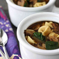 Tortellini Soup with Balsamic Caramelized Onions & Mushrooms Recipe