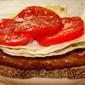 Tempeh Sandwich (Mock BLT)