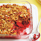 Apple raspberry crisp