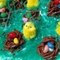 Easter Chick Nests Candy