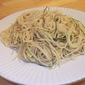 Spaghetti with Green Garlic and Olive Oil