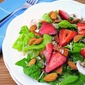 Sunday Spotlight Recipes- Spring Salad with Bacon-Homemade Poppy Seed Dressing