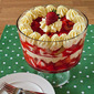 Fresh Strawberry and Lemon Mousse Trifle