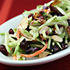 Recipe for broccoli slaw salad with cranberries, almonds, and yogurt dressing