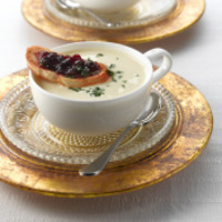 Image of Apple Brie Appetizer Soup Recipe, Cook Eat Share