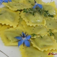 Image of Agnolotti Alle Borragini Al Burro E Timo Recipe, Cook Eat Share