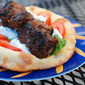 Grilled Lamb Kebabs with Homemade Greek Pitas