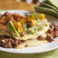 Chorizo Omelet with Guacamole and Spicy Mangoes