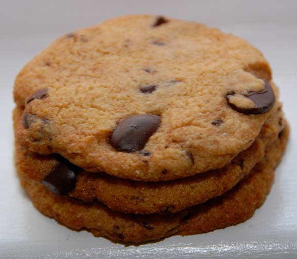 Vegan and Gluten Free Chocolate Chip Cookies Recipe by Elana ...