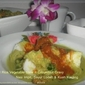 Pressed Rice,Vegetable Stew with Groundnut Gravy