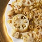 Agave Roasted Lotus Root, Leeks and Cauliflower inspired by Alicia Silverstone's The Kind Diet