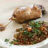Nothing Fancy - Braised Lentils for Easter Dinner