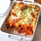 Chicken Parmigiana With Penne Pasta