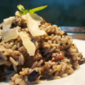Maltese Sausage and Mushroom Risotto