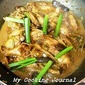 My Cooking Journal 5 - Braised Chicken Wing & Mushrooms with Soy Sauce