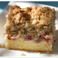 Strawberry & Rhubarb Crumb Bars