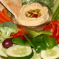 Tahini Hummus with Crudite