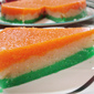 Tricolor Halva for Independence Day