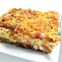 Image of A Skinny And Festive Lasagna`ole Perfect For Cinco De Mayo Recipe, Cook Eat Share