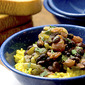 Black Beans and Saffron Rice