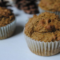Image of Insanely Healthy Sweet Potato Flax Muffins Recipe, Cook Eat Share