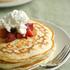 Stacked Up - Strawberry Shortcake Pancakes
