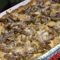 Image of Pesto, Potato And Green Beans Lasagna Recipe, Cook Eat Share