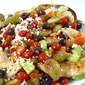 A Colorful Greek Salad Salsa Topped Chicken, Bursting with Flavor