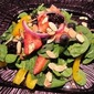 Fresh Spinach Salad with Poppy Seed Dressing!