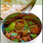 Brinjal Capsicum Curry