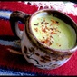 Asparagus, Leek and Acorn Soup