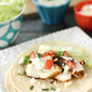 Fish Tacos with Creamy Green Chile & Cilantro Sauce Recipe