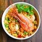 Spot Prawns And Rice Jambalaya