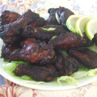 Image of Asian-style Deep Fried Chicken Wings Recipe, Cook Eat Share