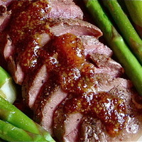 Venison or Elk and Apricot Mustard Sauce