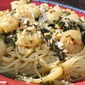 Shrimp and Haddock Florentine Linguine
