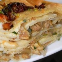 Athisaya Pathiri !! (layered pancake with a rich stuffing)