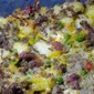 Three Cheese Loaded Potato and Ground Beef Casserole