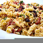 Pasta Salad Tossed in a Sun-Dried Tomato Vinaigrette