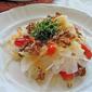 Crunchy daikon salad