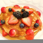 Fruit Buckwheat Pancakes
