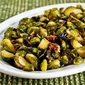 Recipe for Roasted Brussels Sprouts with Pecans (with or without Gorgonzola Cheese)