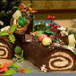 Disneyland's Chocolate and Coffee Yule Log