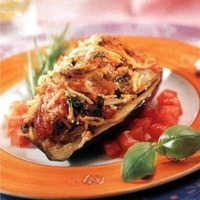 Image of Aubergines Farcies Recipe, Cook Eat Share
