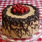 Raspberry Chocolate Buttercream Cake