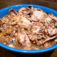 Tagine of Chicken with Preserved Lemon Recipe