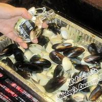 BBQ Party: Juicy Clams & Mussels In Truffle Oil & White Wine