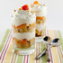 Grilled Peach and Vanilla Cake Trifle with Golden Syrup Whipped Cream